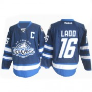 Winnipeg Jets #16 Men's Andrew Ladd Reebok Premier Navy Blue St. John's IceCaps Jersey