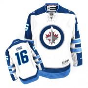 Winnipeg Jets #16 Men's Andrew Ladd Reebok Premier White Away Jersey
