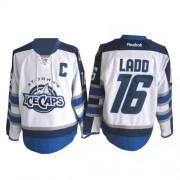 Winnipeg Jets #16 Men's Andrew Ladd Reebok Premier White St. John's IceCaps Jersey