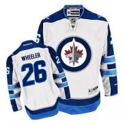 Winnipeg Jets #26 Men's Blake Wheeler Reebok Premier White Away Jersey