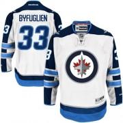 Winnipeg Jets #33 Men's Dustin Byfuglien Reebok Premier White Away Jersey