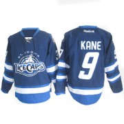 Winnipeg Jets #9 Men's Evander Kane Reebok Authentic Navy Blue St. John's IceCaps Jersey