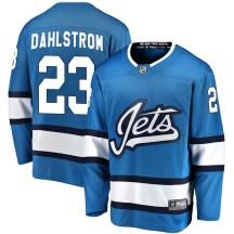 Winnipeg Jets Men's Carl Dahlstrom Fanatics Branded Breakaway Blue Alternate Jersey