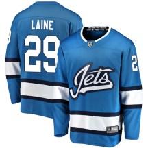 Winnipeg Jets Men's Patrik Laine Fanatics Branded Breakaway Blue Alternate Jersey