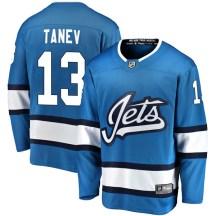 Winnipeg Jets Men's Brandon Tanev Fanatics Branded Breakaway Blue Alternate Jersey