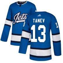 Winnipeg Jets Men's Brandon Tanev Adidas Authentic Blue Alternate Jersey