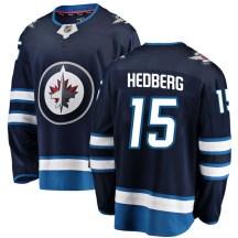 Winnipeg Jets Men's Anders Hedberg Fanatics Branded Breakaway Blue Home Jersey