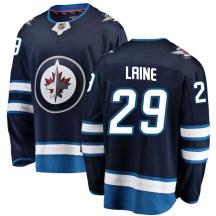 Winnipeg Jets Men's Patrik Laine Fanatics Branded Breakaway Blue Home Jersey