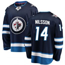 Winnipeg Jets Men's Ulf Nilsson Fanatics Branded Breakaway Blue Home Jersey