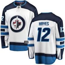 Winnipeg Jets Youth Kevin Hayes Fanatics Branded Breakaway White Away Jersey