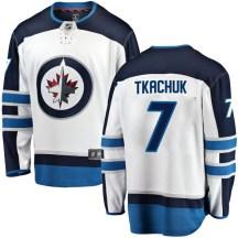 Winnipeg Jets Youth Keith Tkachuk Fanatics Branded Breakaway White Away Jersey
