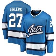 Winnipeg Jets Youth Nikolaj Ehlers Fanatics Branded Breakaway Blue Alternate Jersey