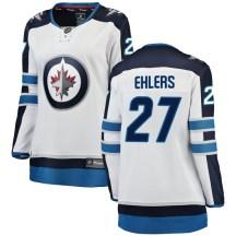 Winnipeg Jets Women's Nikolaj Ehlers Fanatics Branded Breakaway White Away Jersey