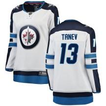 Winnipeg Jets Women's Brandon Tanev Fanatics Branded Breakaway White Away Jersey