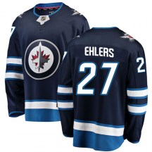 Winnipeg Jets Youth Nikolaj Ehlers Fanatics Branded Breakaway Blue Home Jersey