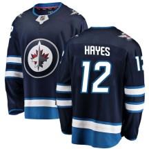 Winnipeg Jets Youth Kevin Hayes Fanatics Branded Breakaway Blue Home Jersey