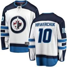 Winnipeg Jets Men's Dale Hawerchuk Fanatics Branded Breakaway White Away Jersey