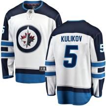 Winnipeg Jets Men's Dmitry Kulikov Fanatics Branded Breakaway White Away Jersey