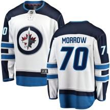 Winnipeg Jets Men's Joe Morrow Fanatics Branded Breakaway White Away Jersey