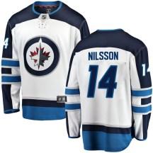 Winnipeg Jets Men's Ulf Nilsson Fanatics Branded Breakaway White Away Jersey