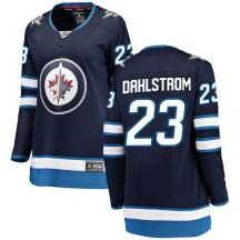 Winnipeg Jets Women's Carl Dahlstrom Fanatics Branded Breakaway Blue Home Jersey