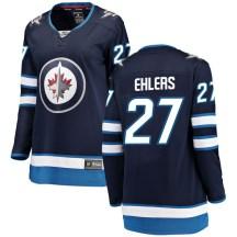 Winnipeg Jets Women's Nikolaj Ehlers Fanatics Branded Breakaway Blue Home Jersey