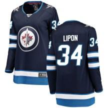 Winnipeg Jets Women's J.C. Lipon Fanatics Branded Breakaway Blue Home Jersey