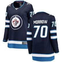 Winnipeg Jets Women's Joe Morrow Fanatics Branded Breakaway Blue Home Jersey