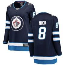 Winnipeg Jets Women's Sami Niku Fanatics Branded Breakaway Blue Home Jersey