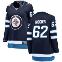 Winnipeg Jets Women's Nelson Nogier Fanatics Branded Breakaway Blue Home Jersey