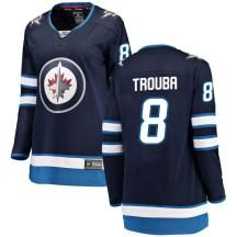 Winnipeg Jets Women's Jacob Trouba Fanatics Branded Breakaway Blue Home Jersey