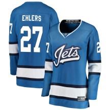 Winnipeg Jets Women's Nikolaj Ehlers Fanatics Branded Breakaway Blue Alternate Jersey