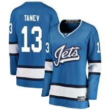 Winnipeg Jets Women's Brandon Tanev Fanatics Branded Breakaway Blue Alternate Jersey