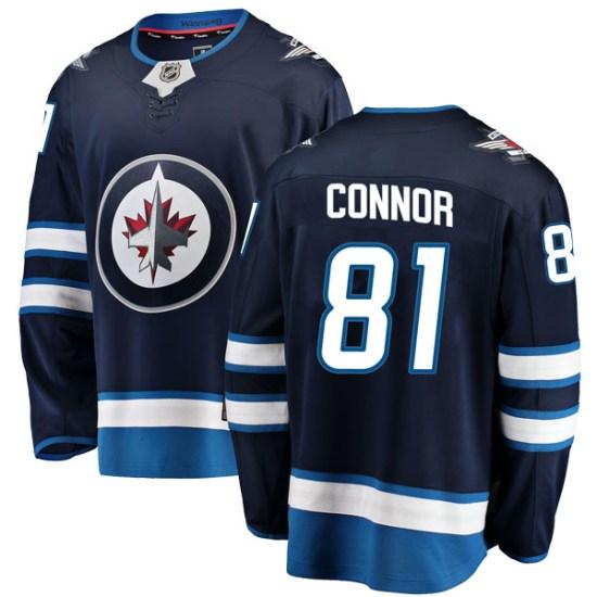 Winnipeg Jets Youth Kyle Connor Fanatics Branded Breakaway Blue Home Jersey